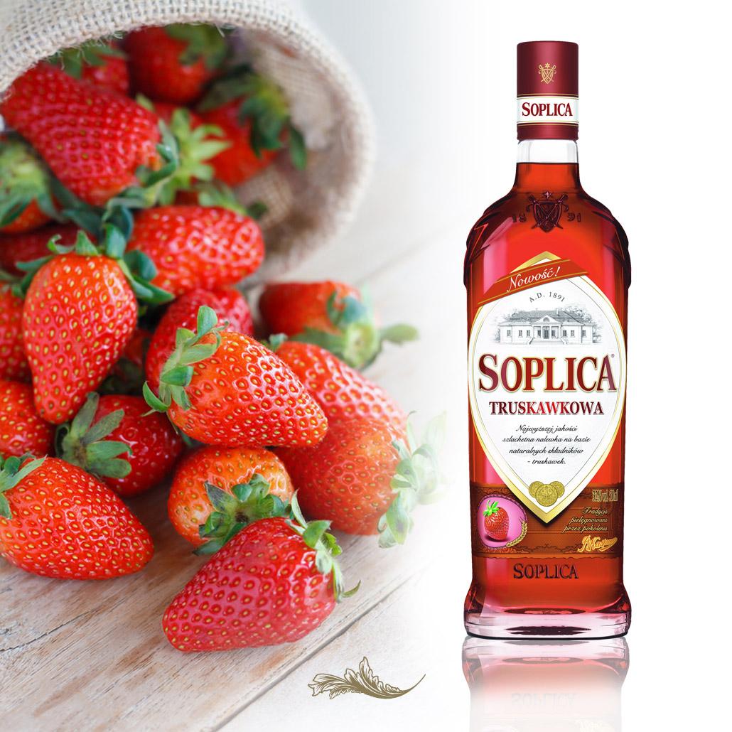 Soplica Erdbeere - truskawkowa
